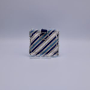 BB keyring blue stripe