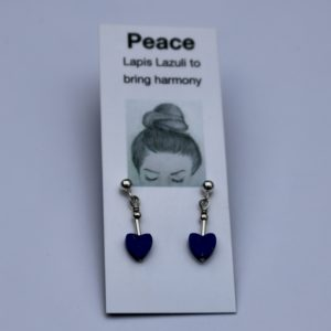 alice design earrings