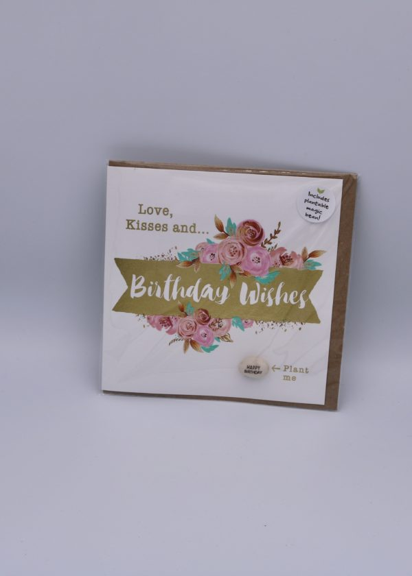 birthday wishes plantable seed