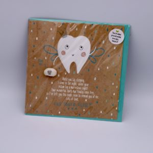 Tooth fairy card plantable seed
