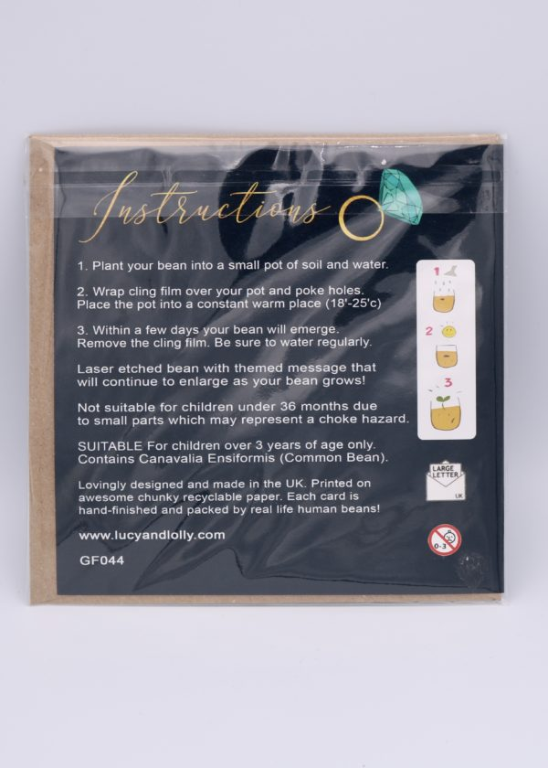 engagement seed card